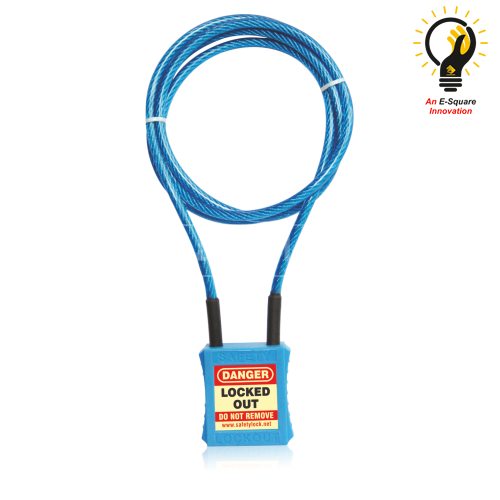 Lockout Tagout - Cable Lockout Safety Padlock