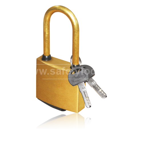 Lockout Tagout - Brass Lockout Padlock