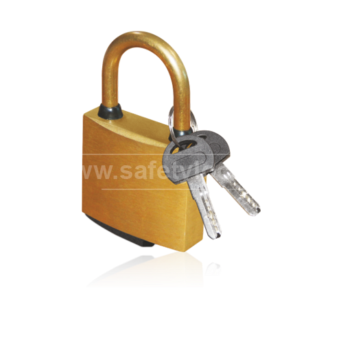 Lockout Tagout - Complete Brass Lockout Padlock