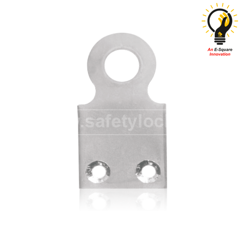Flat Padlock Eye Medium Size