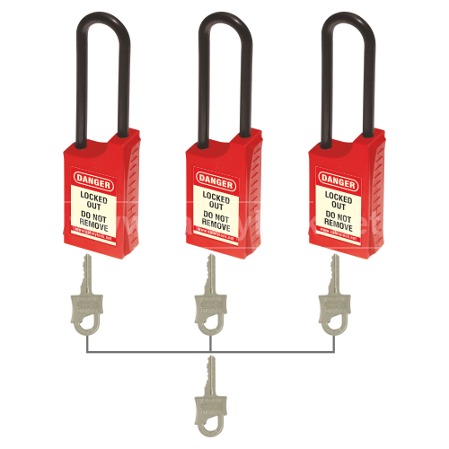Lockout Tagout - HLSP De ELECTRIC Padlock