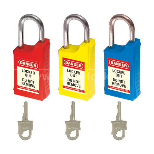Lockout Tagout - HLSP Padlock with 46 mm Steel Shackle - Key Different