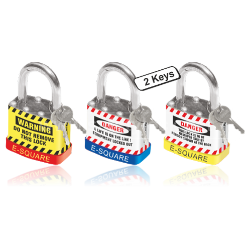 Lockout Tagout - Safety Padlock with REGULAR Shackle