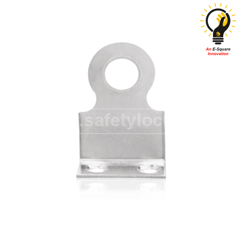 Right Angled Padlock Eye Medium Size