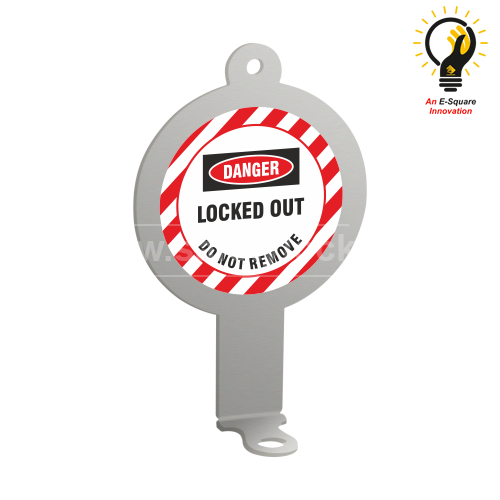 Lockout Tagout - Right Angled Padlock Eye- Sumo
