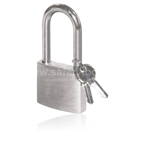 Stainless Steel Lockout Padlock - Long