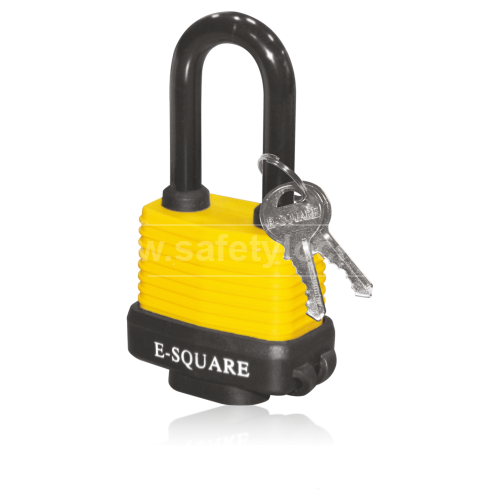 Laminated Steel Body Lockout Padlock Weather Resistant